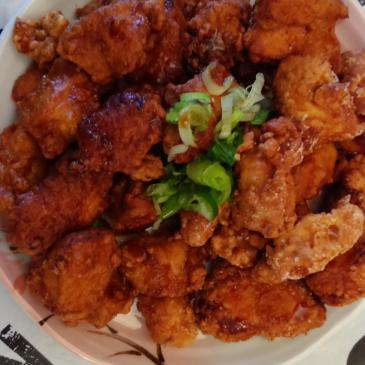 Receta de Tori no Karaage (Pollo frito)