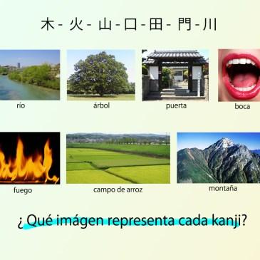 La forma de los kanji y su significado