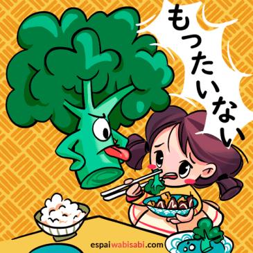 La expresión japonesa Mottainai