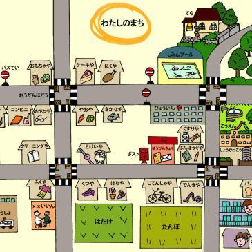 Vocabulario sobre la ciudad en japonés
