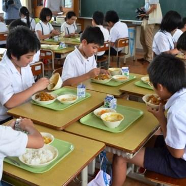 La comida escolar japonesa, el kyuushoku