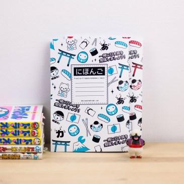 Nueva tienda online y libretas para caligrafía japonesa