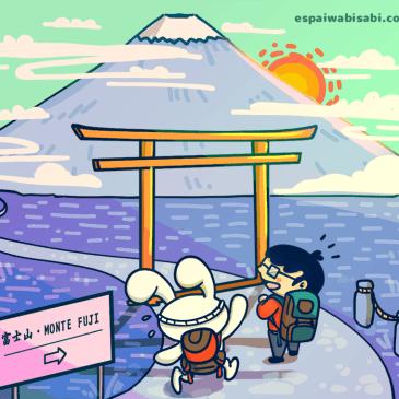 El diario de Takeshi Sensei – El Fuji San (nivel N5)