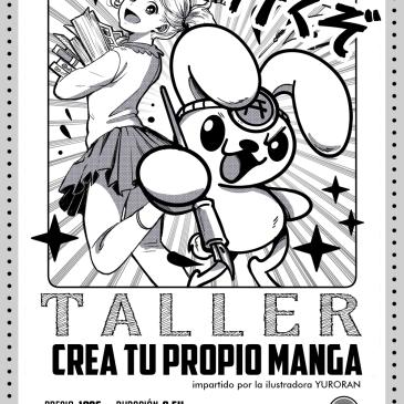 Taller: Crea tu propio manga