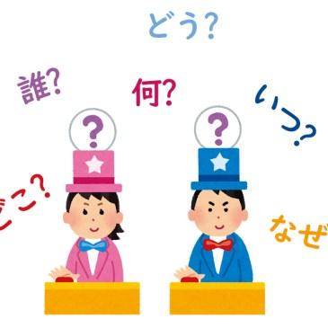 Repaso sobre los interrogativos básicos en japonés